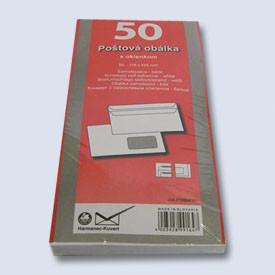 Obálka DL okno samolepící/ 50ks 110x220
