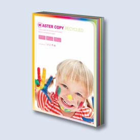 Xerox papír A4 80g. 10x50l pastel. odstíny