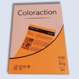 Xerox papír A4 80g. neonový oranžový 500l
