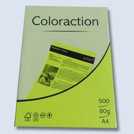 Xerox papír A4 80g. neonový žlutý 500l