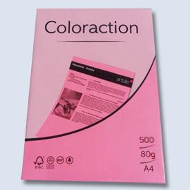 Xerox papír A4 80g. neonový růžový 500l