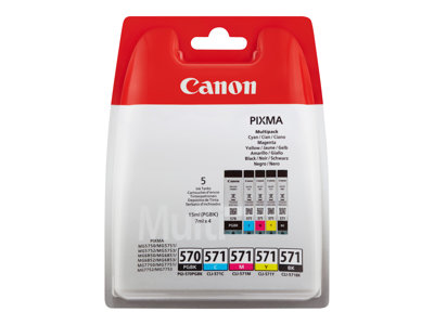 Canon PGI-570/CLI-571 PGBK/BK/C/M/Y Multi Pack
