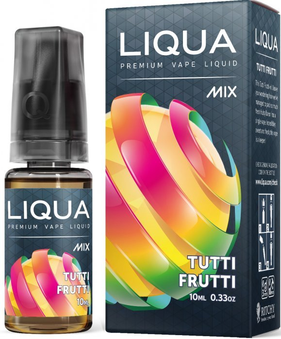 Liquid LIQUA CZ MIX Tutti Frutti 10ml-18mg