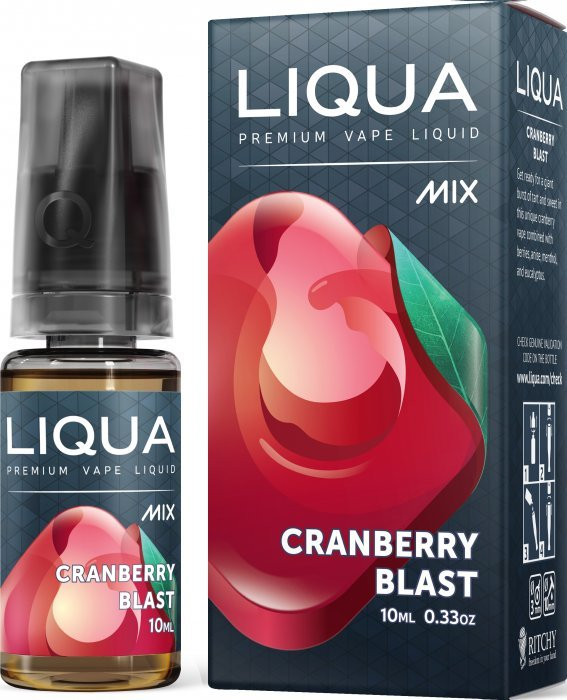 Liquid LIQUA CZ MIX Cranberry Blast 10ml-18mg