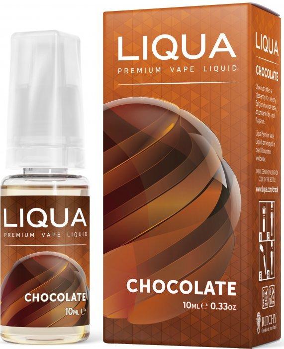 Liquid LIQUA CZ Elements Chocolate 10ml-6mg (čokoláda)
