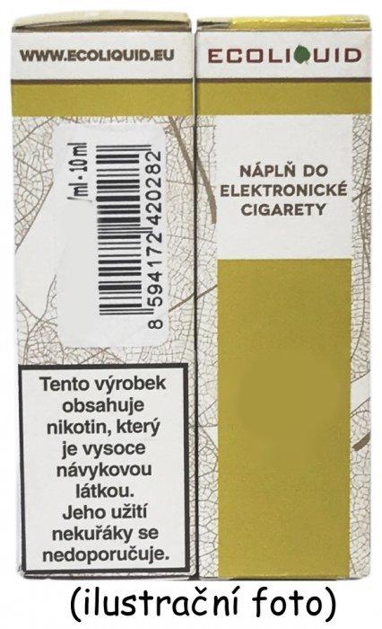 Liquid Ecoliquid Cherry 10ml - 0mg (Třešeň)