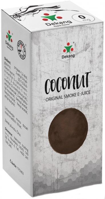 Liquid Dekang Coconut 10ml - 18mg (Kokos)