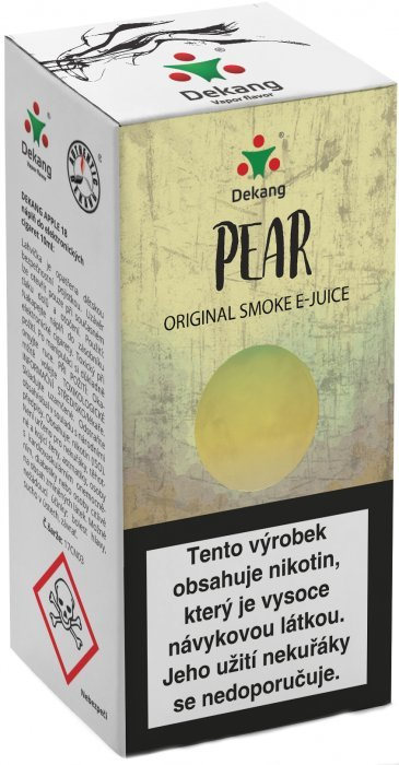 Liquid Dekang Pear (Hruška) 10ml - 16mg