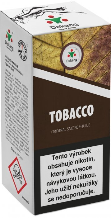 Liquid Dekang Tobacco 10ml - 16mg (tabák)
