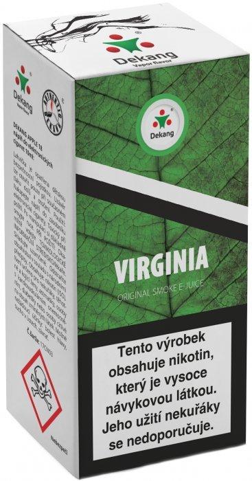 Liquid Dekang Virginia 10ml - 18mg (virginia tabák)