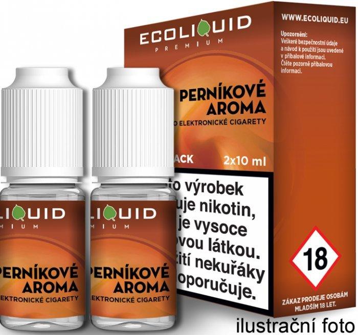 Liquid Ecoliquid Premium 2Pack Gingerbread tobacco 2x10ml - 0mg (Perníkový tabák)