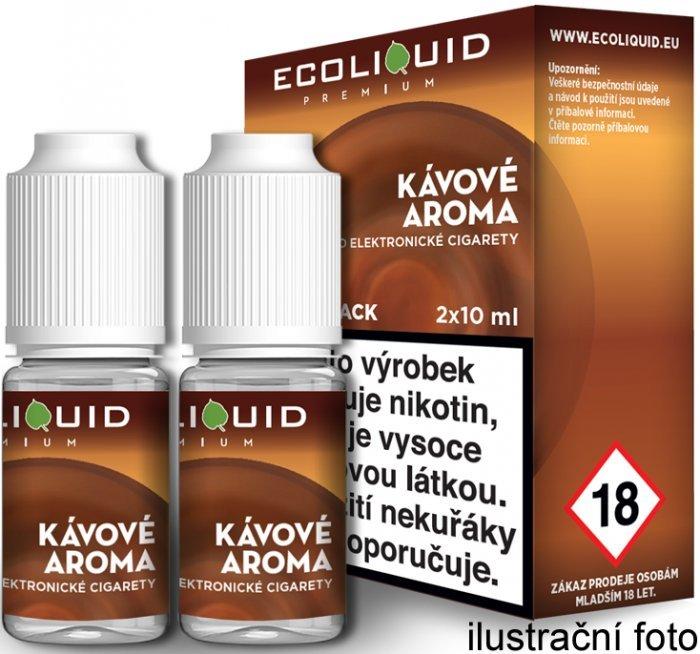 Liquid Ecoliquid Premium 2Pack Coffee 2x10ml - 0mg (Káva)