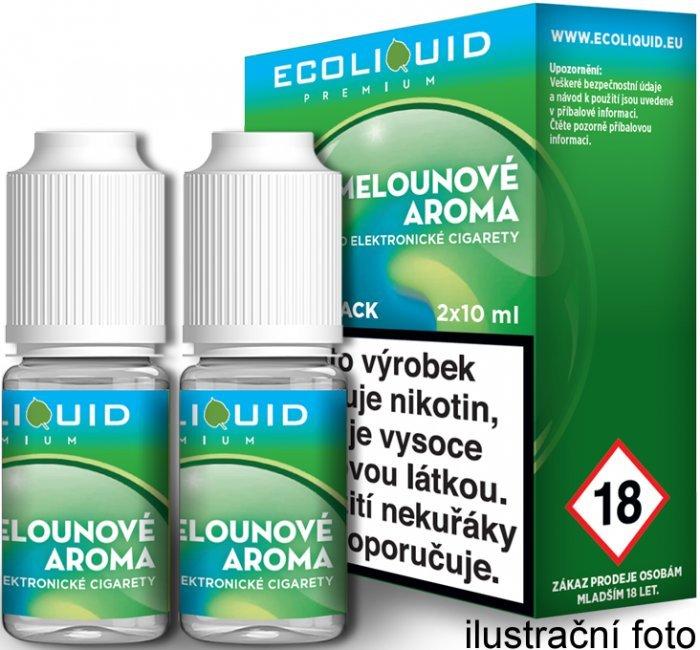 Liquid Ecoliquid Premium 2Pack ICE Melon 2x10ml - 0mg (Svěží meloun)