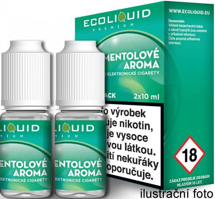 Liquid Ecoliquid Premium 2Pack Menthol 2x10ml - 0mg