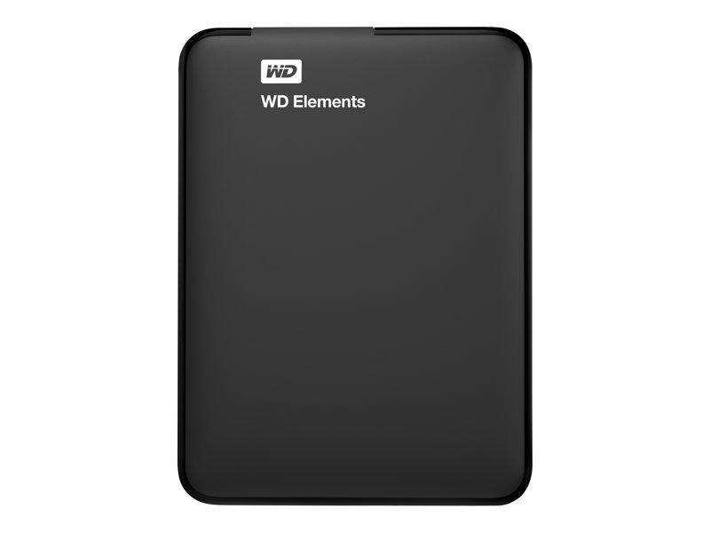 """Western Digital Elements 750GB, 2.5"""", USB 3.0, WDBUZG7500ABK-EESN"""