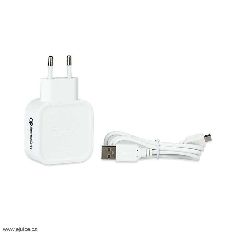 Avatar Rychlonabíječka USB QC2.0 Quick Charger Bílá
