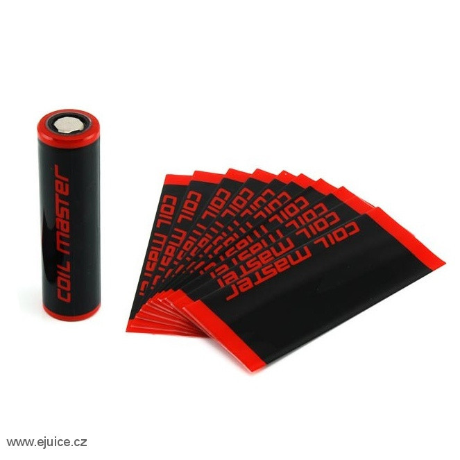Coil Master PVC smršťovací fólie na baterii 18650 set