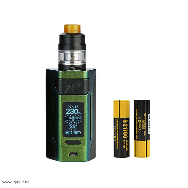 WISMEC Reuleaux RX2 21700 Kit s Gnome (Gradient Green)