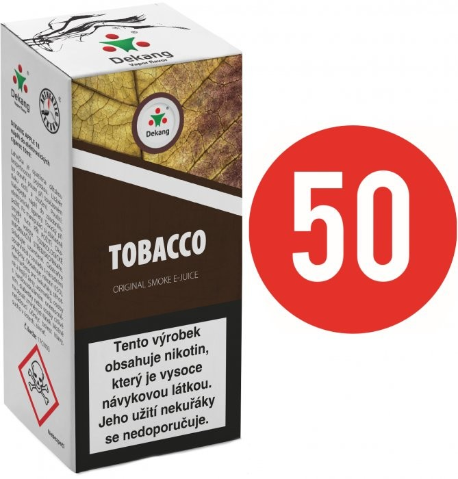 Liquid Dekang Fifty Tobacco 10ml - 6mg (Tabák)