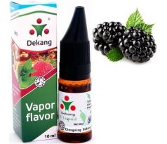 Liquid Dekang SILVER Blackberry 10ml - 6mg (Ostružina)