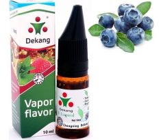 Liquid Dekang SILVER Blueberry 10ml - 18mg (Borůvka)