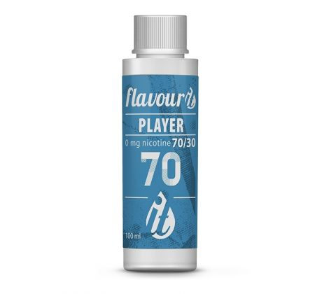Flavourit Beznikotinová báze PLAYER PG70/VG30 0mg 100ml