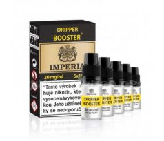 Boudoir Samadhi s.r.o. IMPERIA DRIPPER BOOSTER (70VG/30PG) 5x10ml 20mg