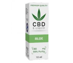 CBD Vape Liquid 10 ml  - Aloe 600mg (6%)