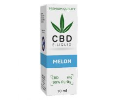 CBD Vape Liquid 10 ml  - Melon 600mg (6%)
