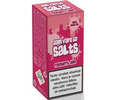 Liquid Juice Sauz SALT The Jam Vape Co Raspberry Jam 10ml - 20mg