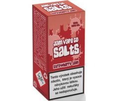 Liquid Juice Sauz SALT The Jam Vape Co Strawberry Jam 10ml - 10mg